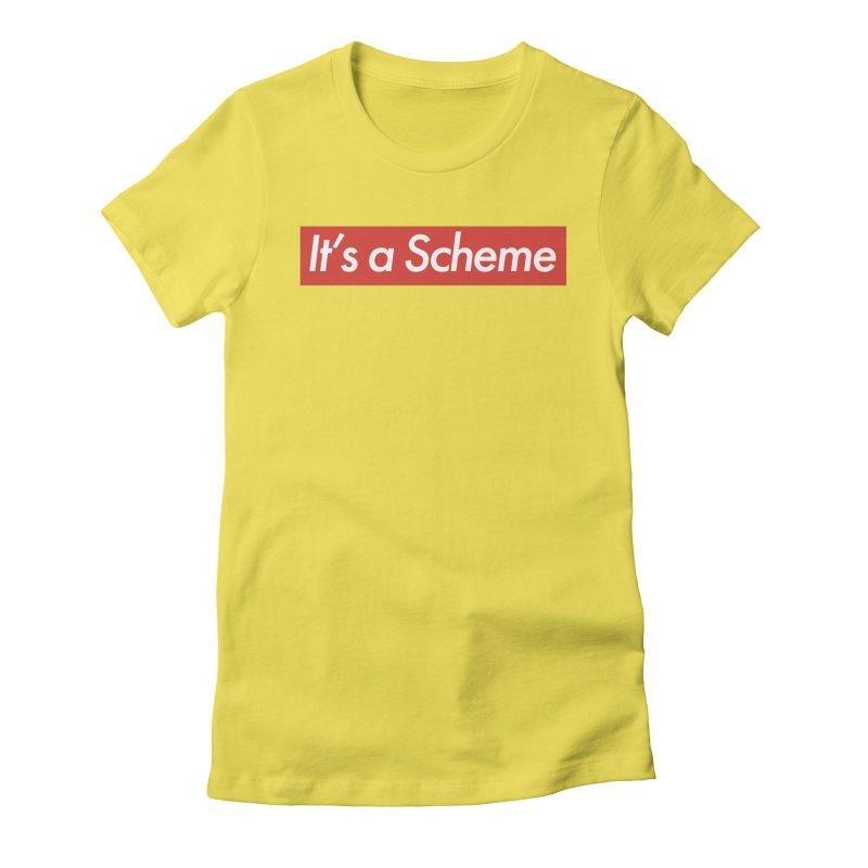 Supreme Scheme Women's Fitted T-Shirt by Mike Hampton's T-Shirt Shop