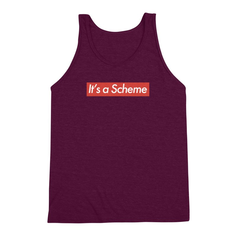 Supreme Scheme Men's Triblend Tank by Mike Hampton's T-Shirt Shop