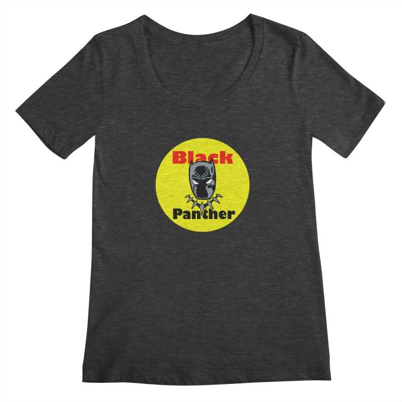 Like a Firecracker! Women's Scoopneck by Mike Hampton's T-Shirt Shop