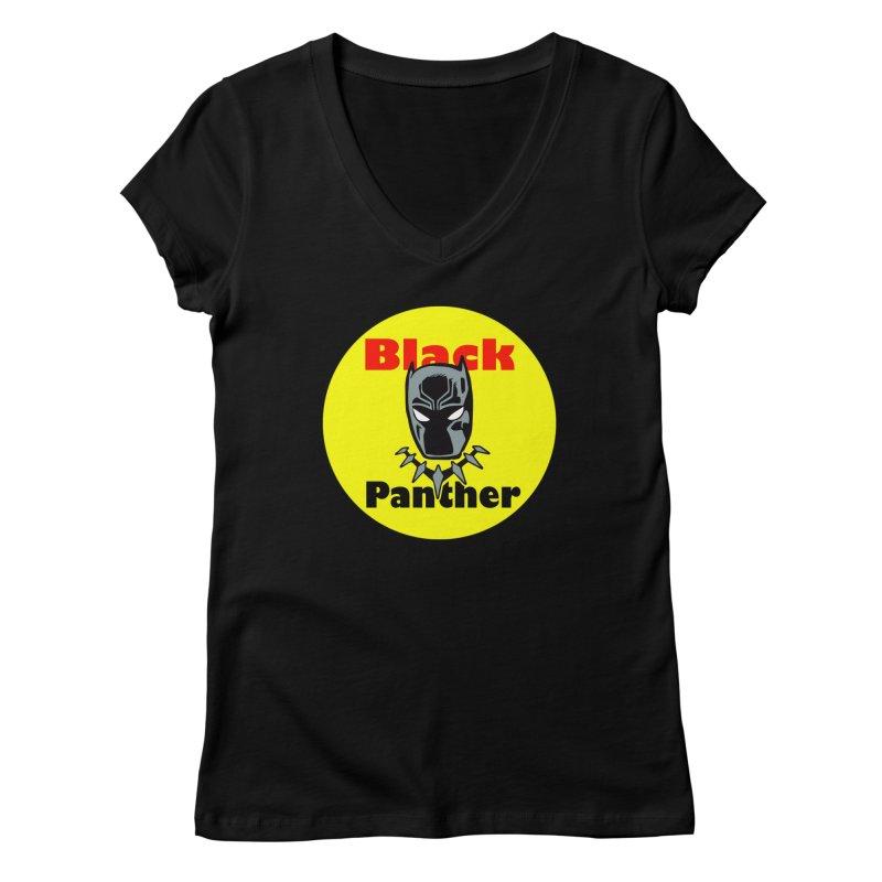 Like a Firecracker! Women's V-Neck by Mike Hampton's T-Shirt Shop