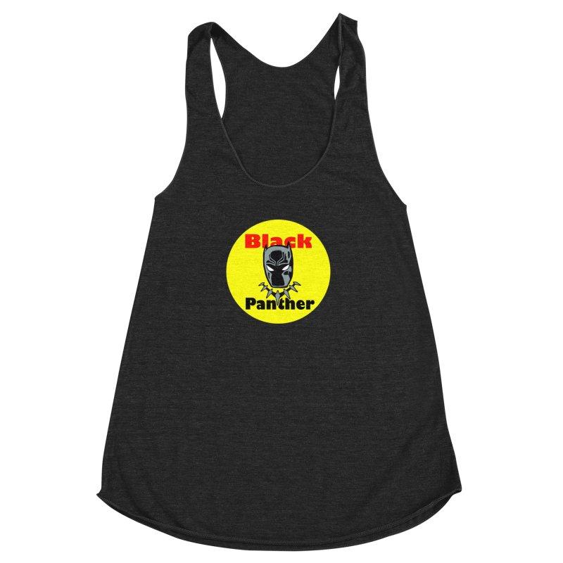 Like a Firecracker! Women's Racerback Triblend Tank by Mike Hampton's T-Shirt Shop