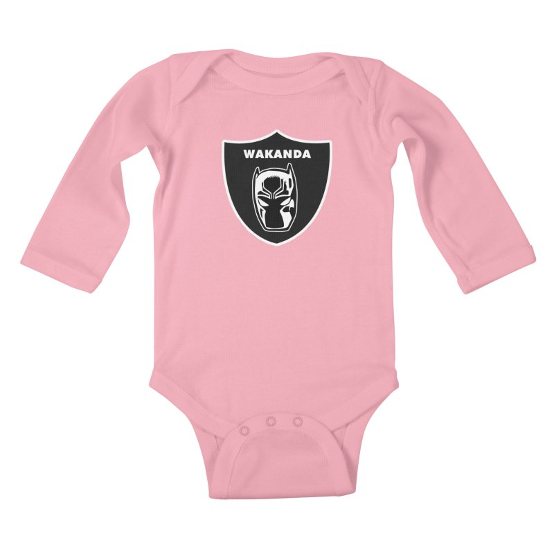 Oakland Forever Kids Baby Longsleeve Bodysuit by Mike Hampton's T-Shirt Shop