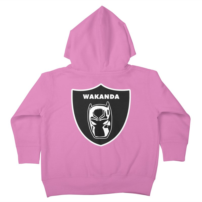 Oakland Forever Kids Toddler Zip-Up Hoody by Mike Hampton's T-Shirt Shop