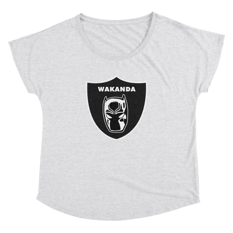 Oakland Forever Women's Dolman Scoop Neck by Mike Hampton's T-Shirt Shop