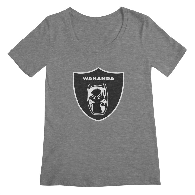 Because, Oakland... Women's Scoopneck by Mike Hampton's T-Shirt Shop
