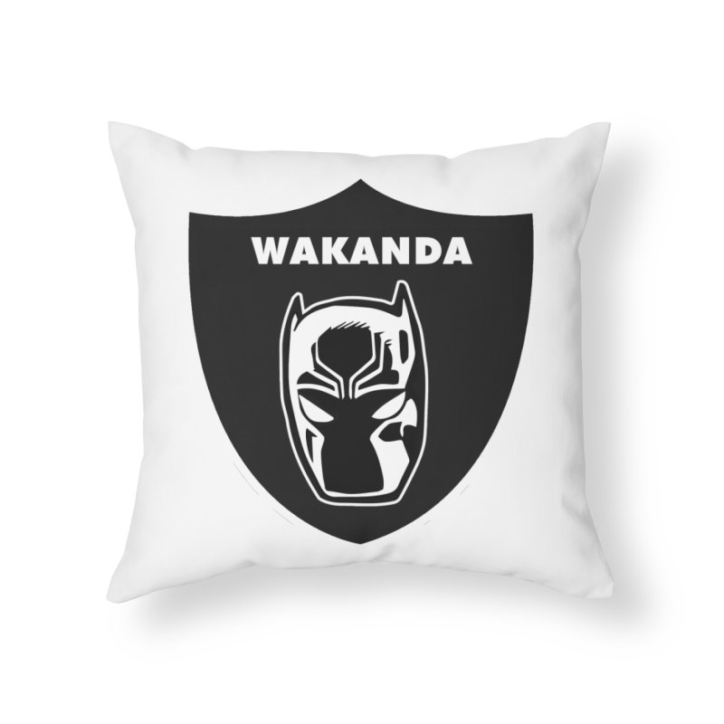 Oakland Forever Home Throw Pillow by Mike Hampton's T-Shirt Shop