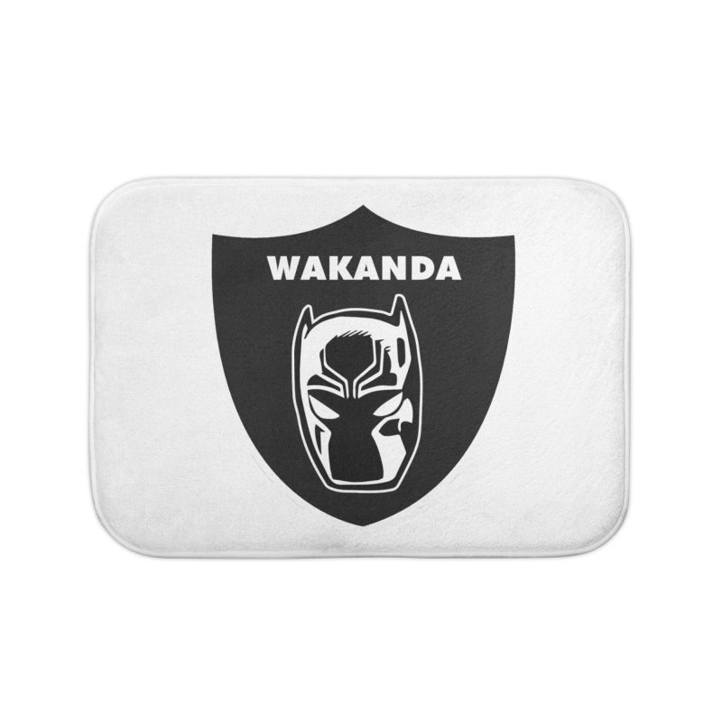 Oakland Forever Home Bath Mat by Mike Hampton's T-Shirt Shop