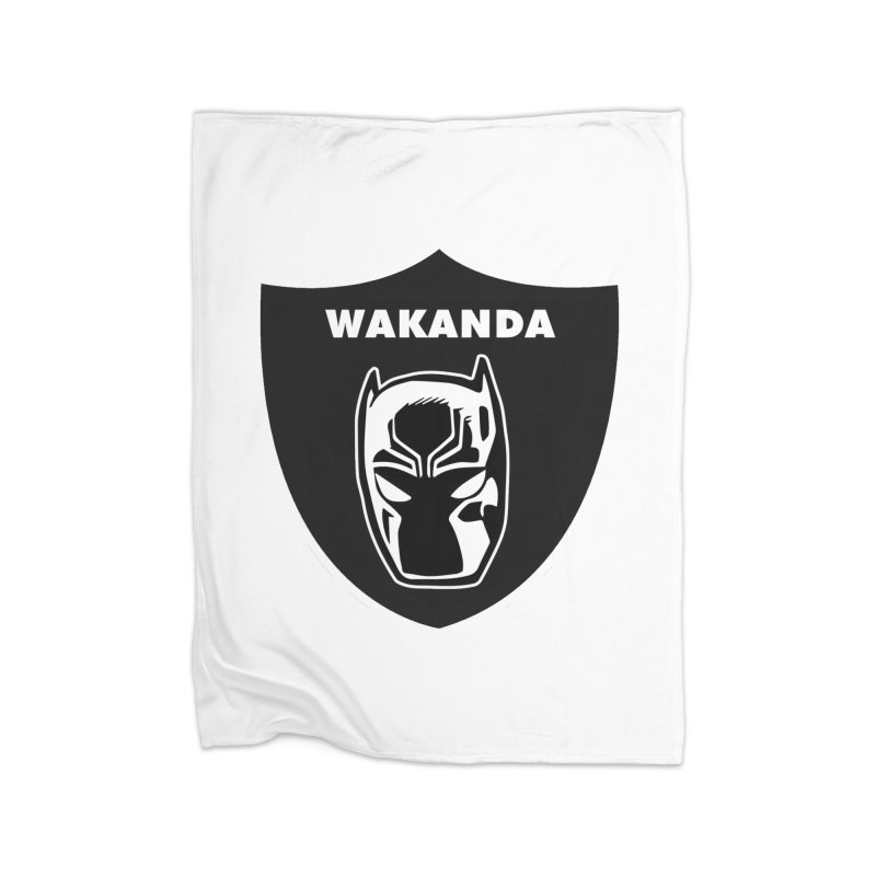 Oakland Forever Home Blanket by Mike Hampton's T-Shirt Shop