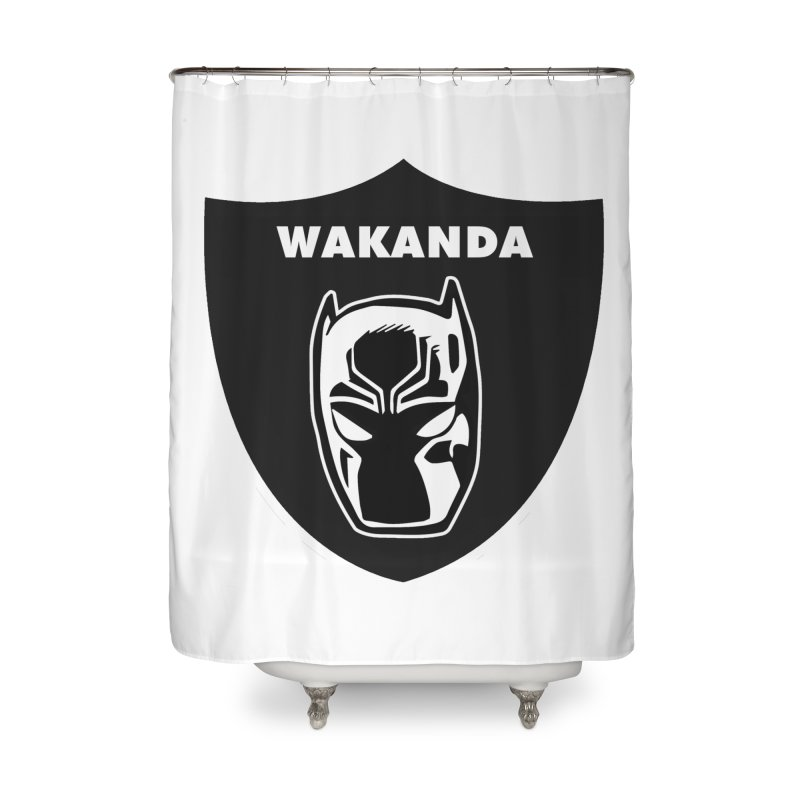 Oakland Forever Home Shower Curtain by Mike Hampton's T-Shirt Shop