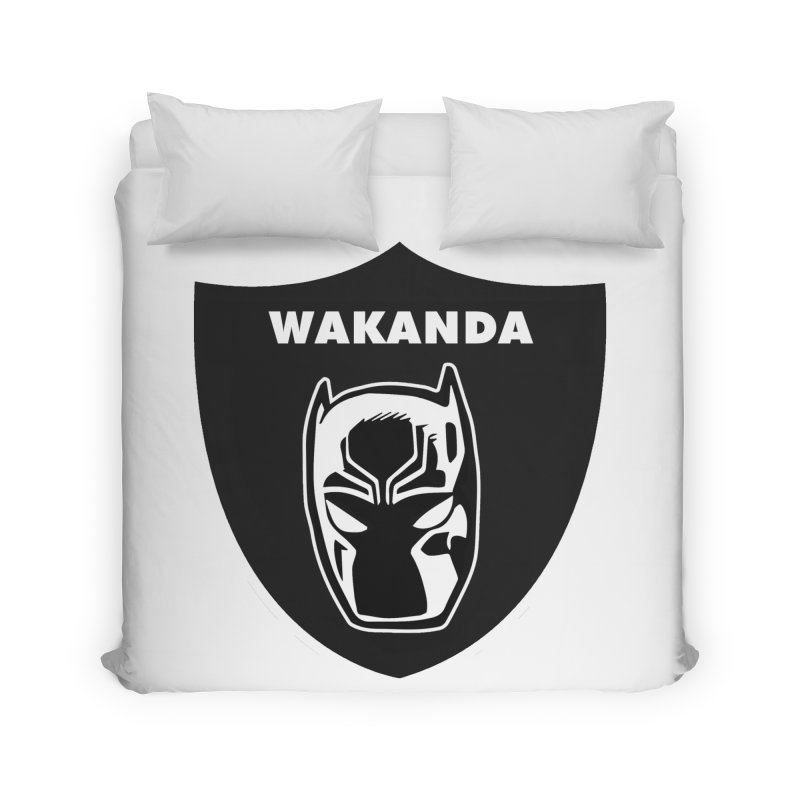 Oakland Forever Home Duvet by Mike Hampton's T-Shirt Shop