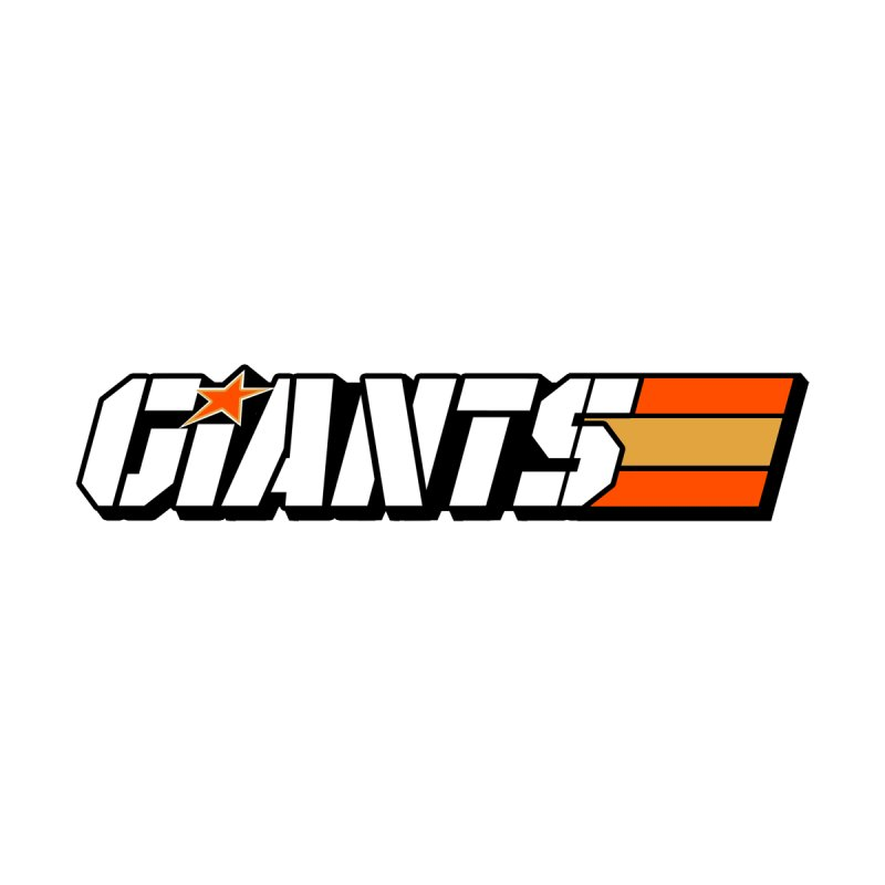 Yo Giants! Men's Zip-Up Hoody by Mike Hampton's T-Shirt Shop