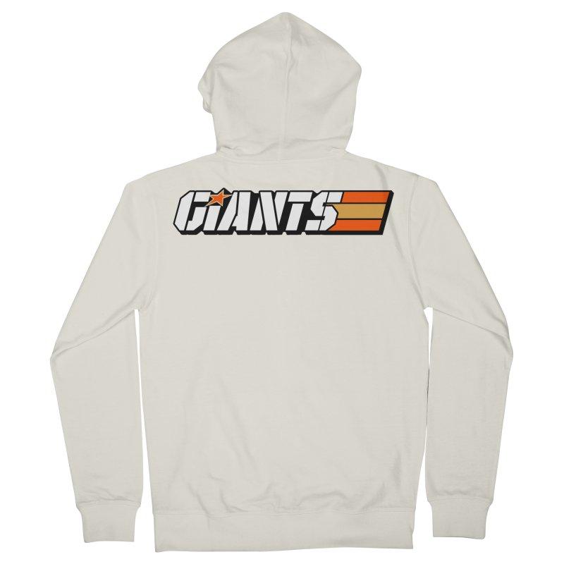 Yo Giants! Men's Zip-Up Hoody by Mike Hampton's T-Shirt Shop