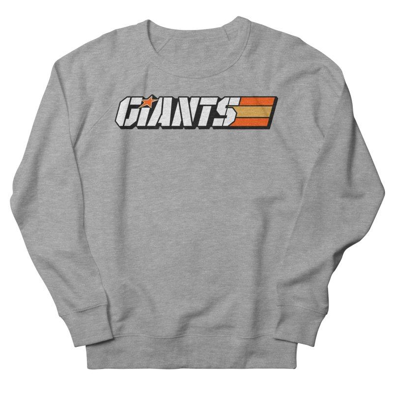 Yo Giants! Women's French Terry Sweatshirt by Mike Hampton's T-Shirt Shop