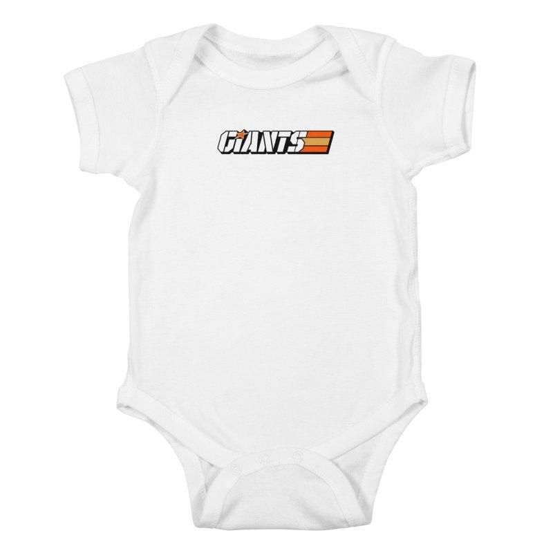 Yo Giants! Kids Baby Bodysuit by Mike Hampton's T-Shirt Shop