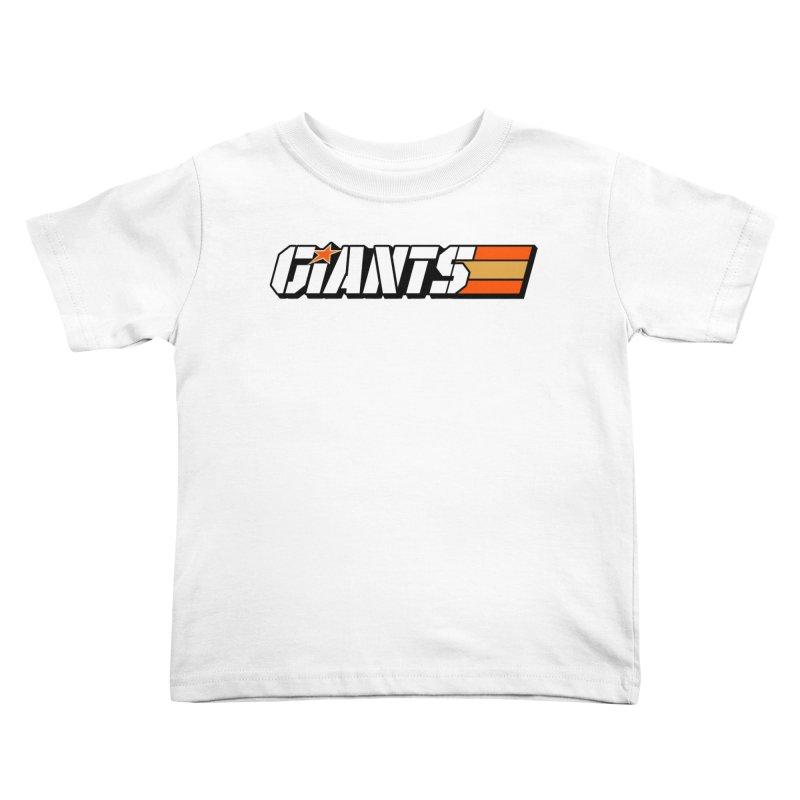 Yo Giants! Kids Toddler T-Shirt by Mike Hampton's T-Shirt Shop