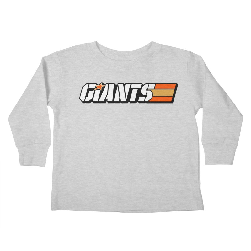 Yo Giants! Kids Toddler Longsleeve T-Shirt by Mike Hampton's T-Shirt Shop