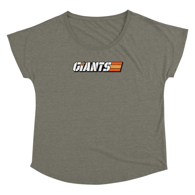 Yo Giants! Women's  by Mike Hampton's T-Shirt Shop