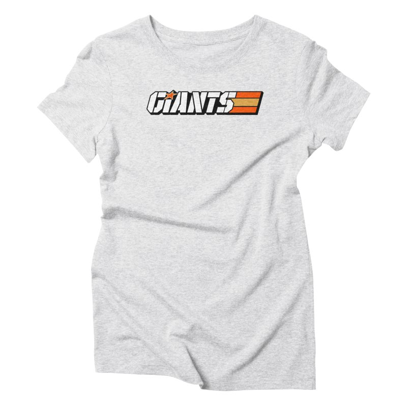 Yo Giants! Women's T-Shirt by Mike Hampton's T-Shirt Shop