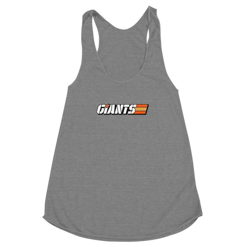 Yo Giants! Women's Racerback Triblend Tank by Mike Hampton's T-Shirt Shop