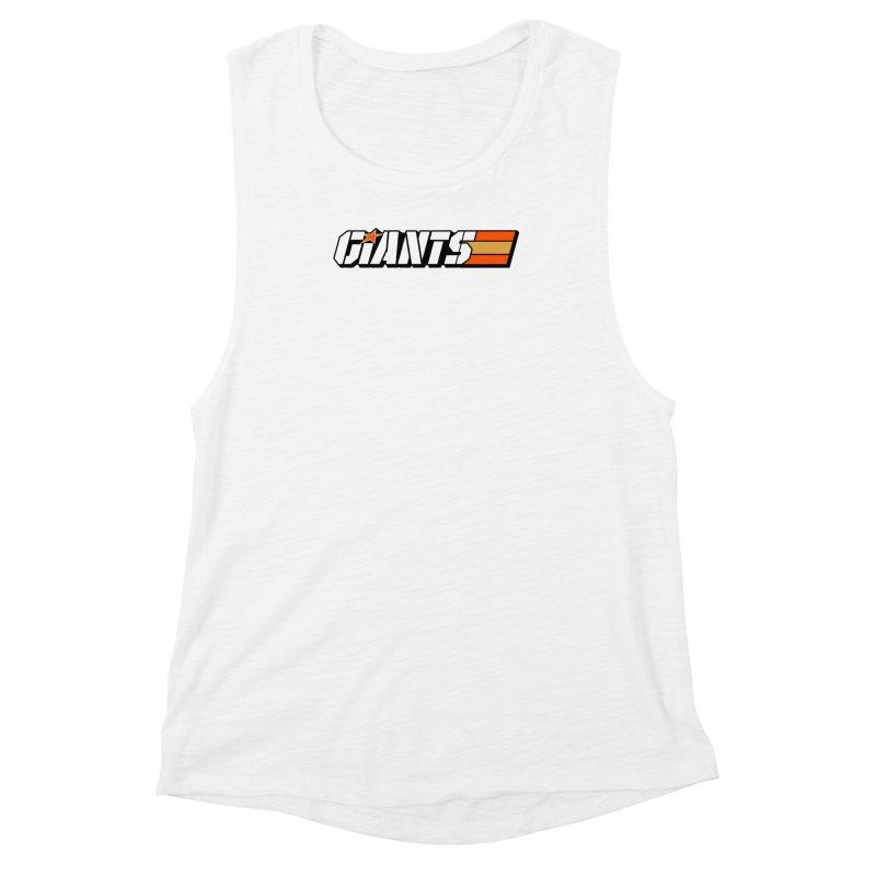 Yo Giants! Women's Muscle Tank by Mike Hampton's T-Shirt Shop