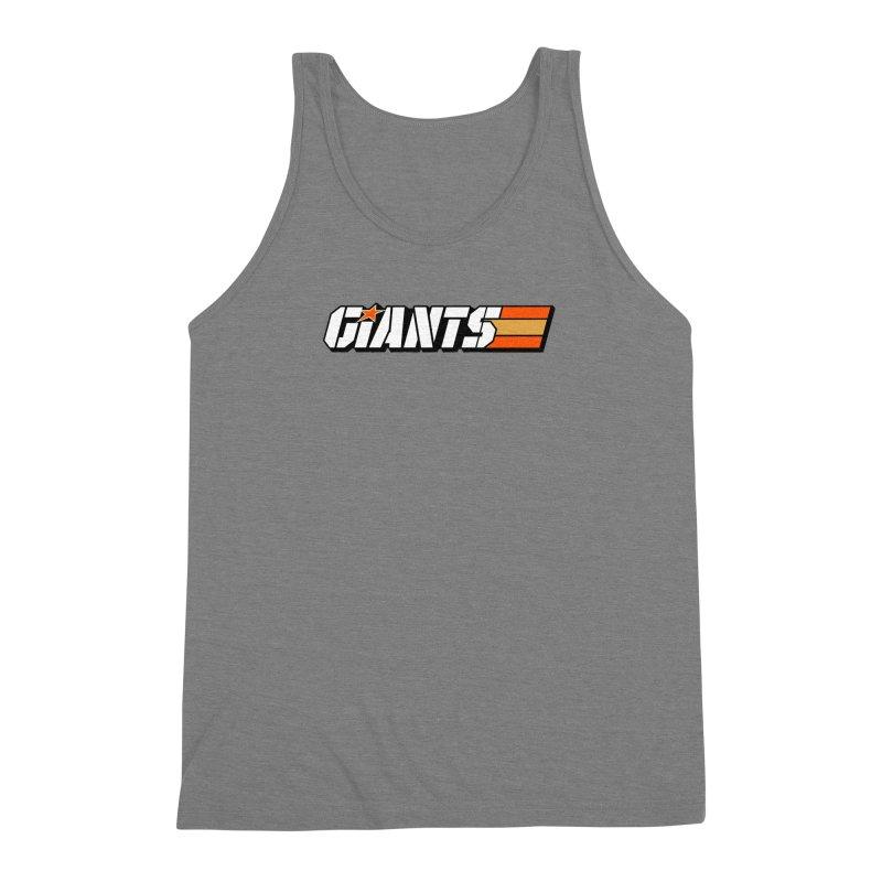 Yo Giants! Men's Triblend Tank by Mike Hampton's T-Shirt Shop