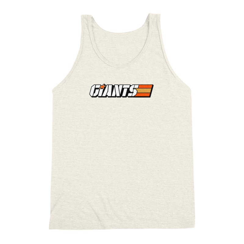 Yo Giants! Men's Triblend Tank by Mike Hampton's T-Shirt Shop