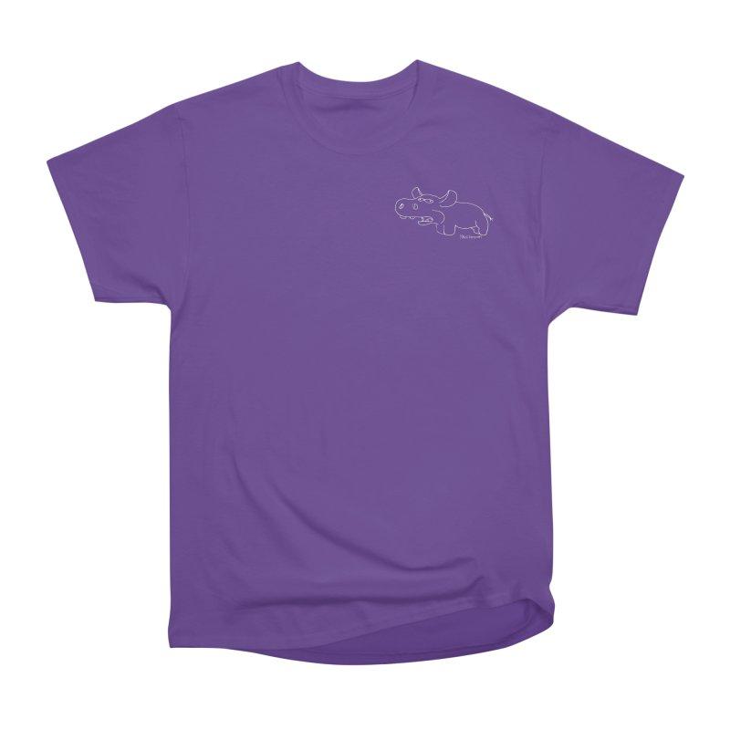 Hippapotomas Women's Heavyweight Unisex T-Shirt by Mike Hampton's T-Shirt Shop