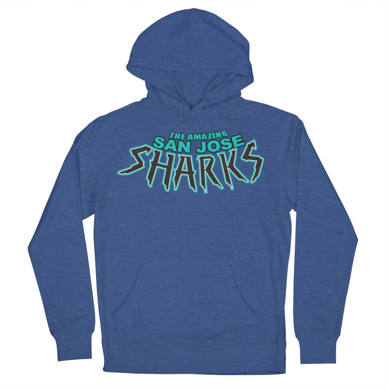 Friendly Neighborhood Sharks Women's Pullover Hoody by Mike Hampton's T-Shirt Shop