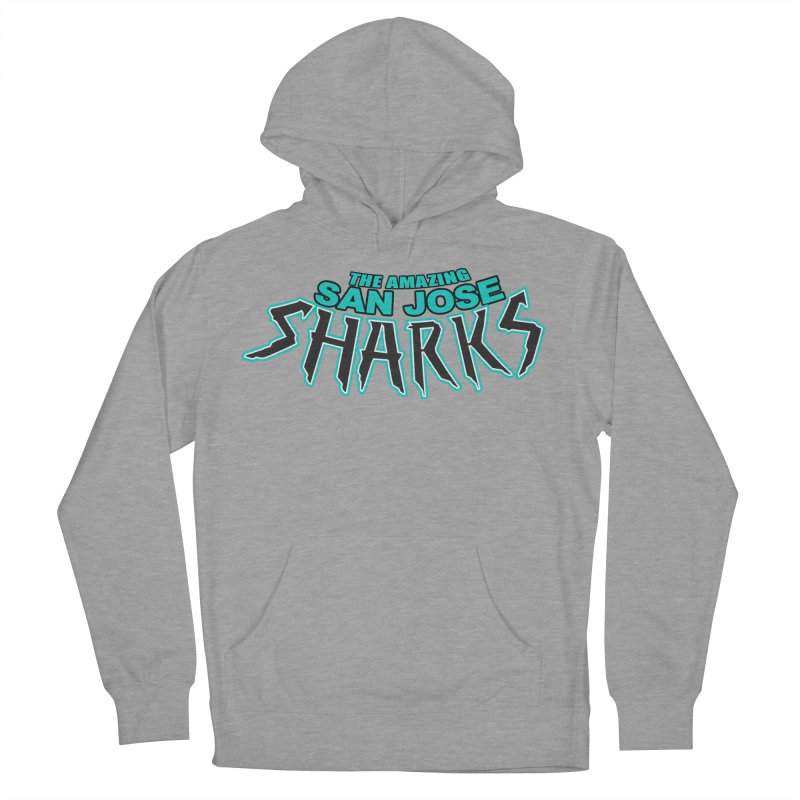Friendly Neighborhood Sharks Women's French Terry Pullover Hoody by Mike Hampton's T-Shirt Shop