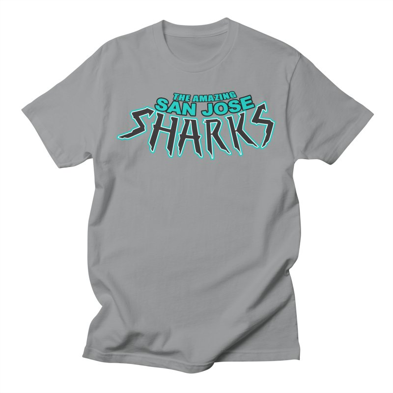 Friendly Neighborhood Sharks Men's  by Mike Hampton's T-Shirt Shop