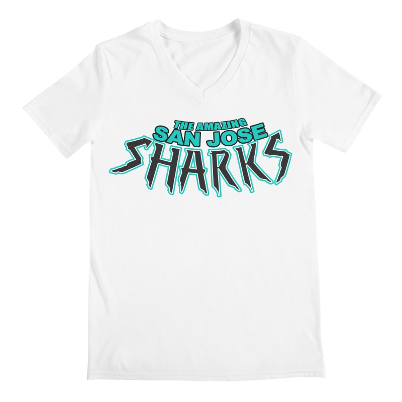 Friendly Neighborhood Sharks Men's  by Mike Hampton's T-Shirt Shop
