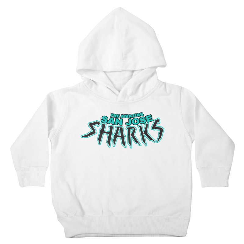 Friendly Neighborhood Sharks Kids Toddler Pullover Hoody by Mike Hampton's T-Shirt Shop