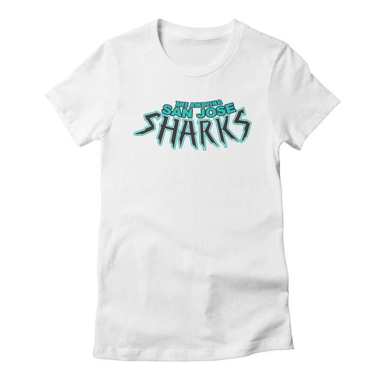Friendly Neighborhood Sharks Women's  by Mike Hampton's T-Shirt Shop