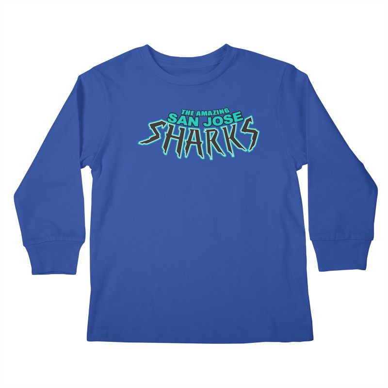 Friendly Neighborhood Sharks Kids  by Mike Hampton's T-Shirt Shop