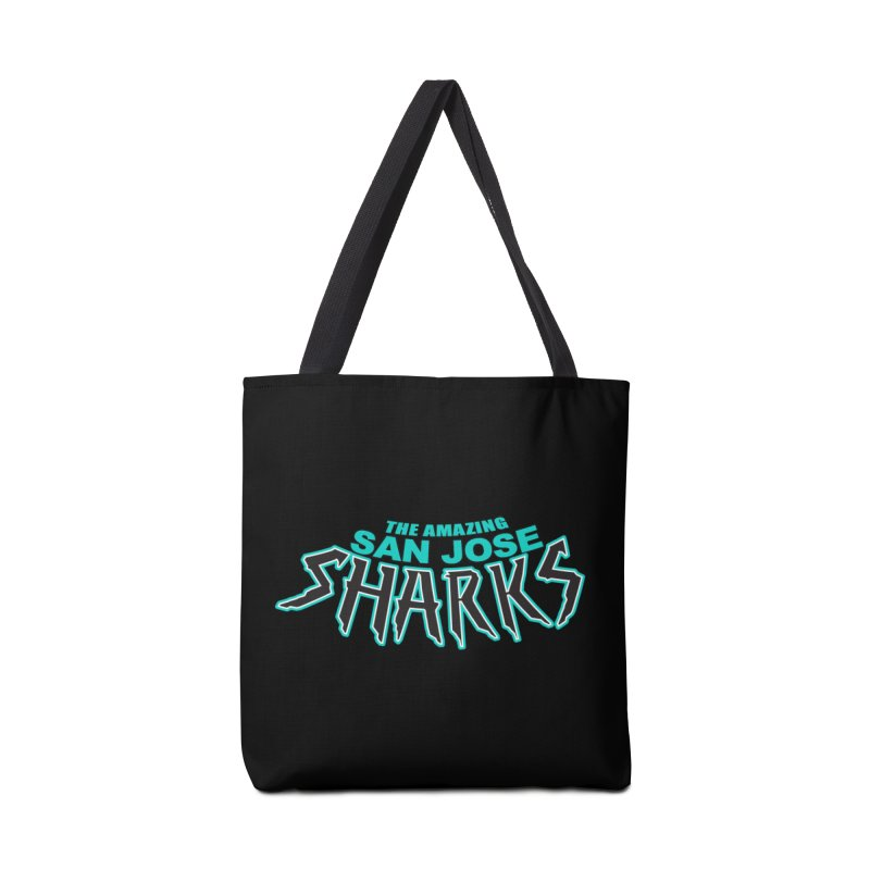 Friendly Neighborhood Sharks Accessories Bag by Mike Hampton's T-Shirt Shop
