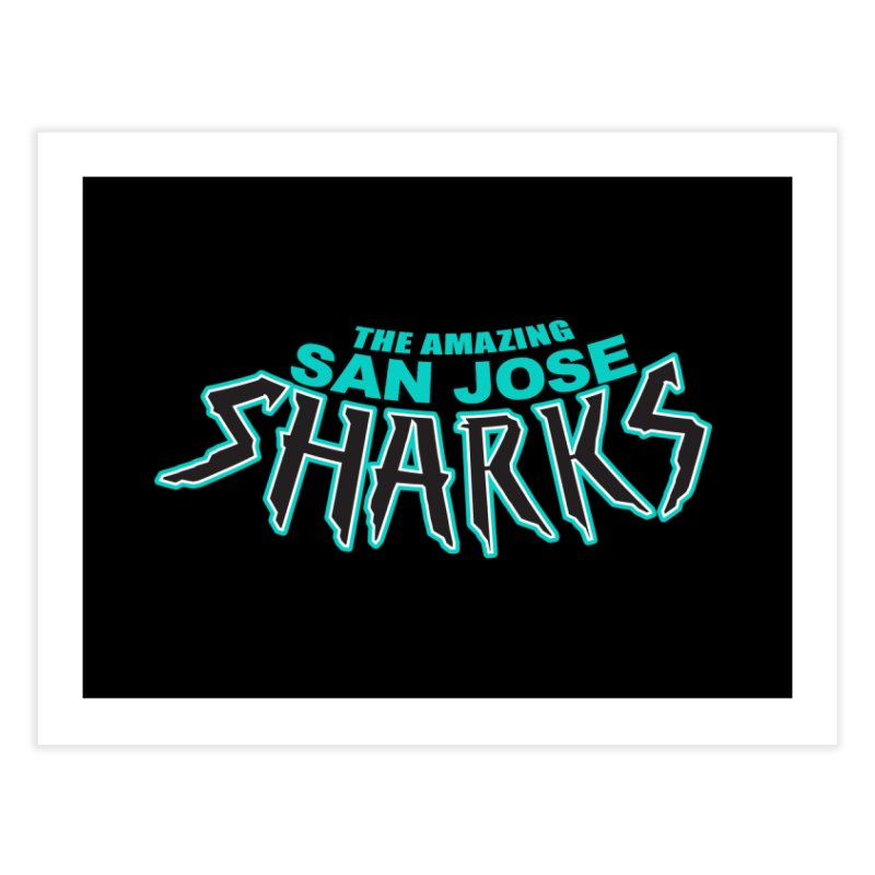 Friendly Neighborhood Sharks Home  by Mike Hampton's T-Shirt Shop