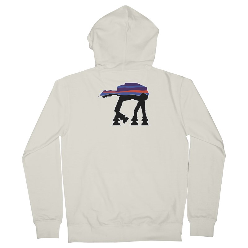 Where ya At-At? Women's Zip-Up Hoody by Mike Hampton's T-Shirt Shop