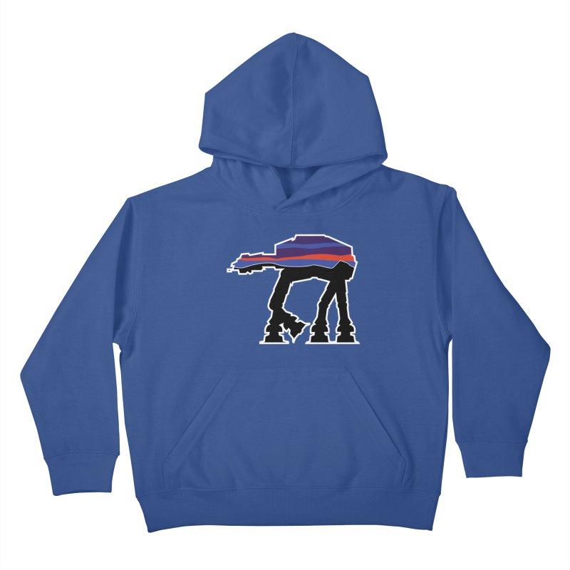 Where ya At-At? Kids Pullover Hoody by Mike Hampton's T-Shirt Shop