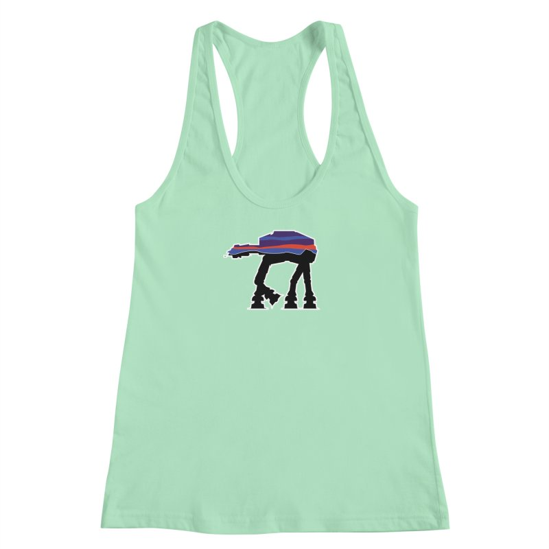 Where ya At-At? Women's Racerback Tank by Mike Hampton's T-Shirt Shop