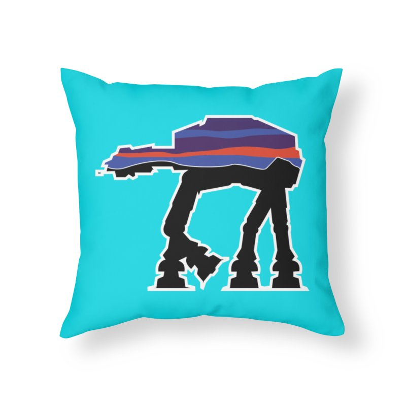 Where ya At-At? Home Throw Pillow by Mike Hampton's T-Shirt Shop