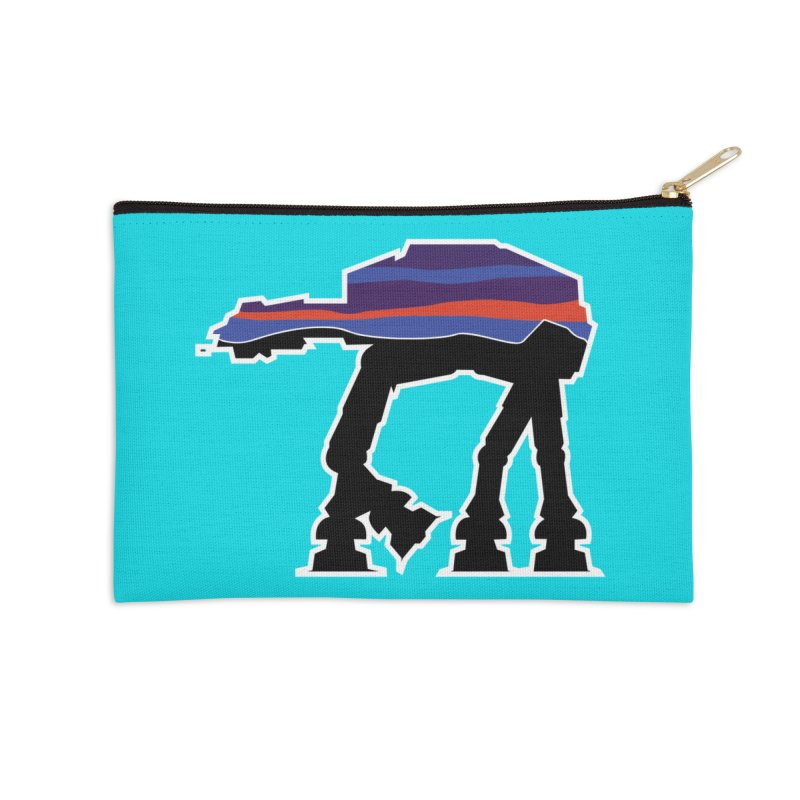 Where ya At-At? Accessories Zip Pouch by Mike Hampton's T-Shirt Shop