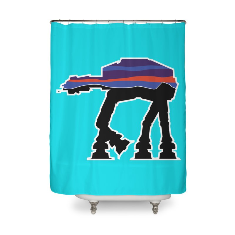 Where ya At-At? Home Shower Curtain by Mike Hampton's T-Shirt Shop