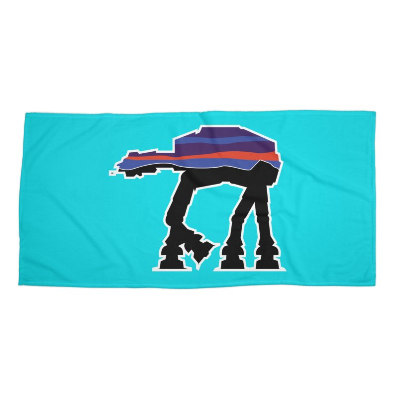 Where ya At-At? Accessories Beach Towel by Mike Hampton's T-Shirt Shop