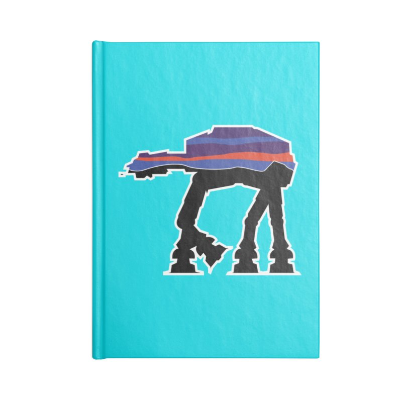 Where ya At-At? Accessories Notebook by Mike Hampton's T-Shirt Shop