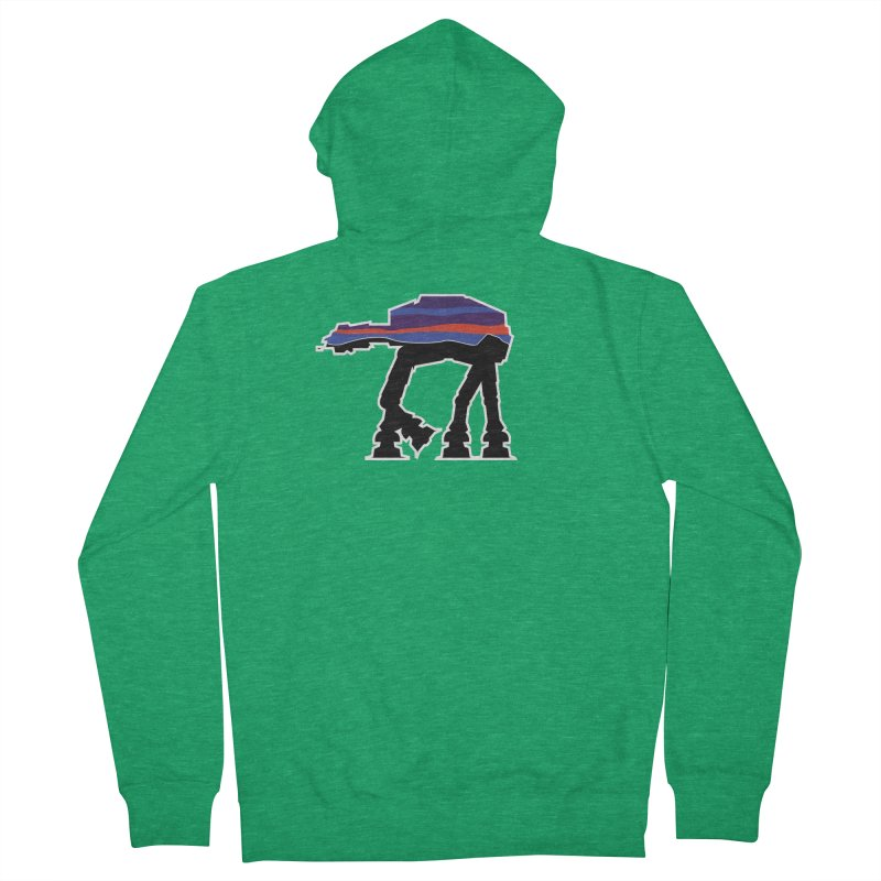 Where ya At-At? Women's French Terry Zip-Up Hoody by Mike Hampton's T-Shirt Shop