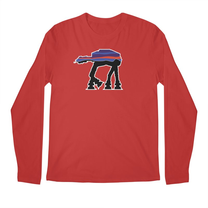 Where ya At-At? Men's Regular Longsleeve T-Shirt by Mike Hampton's T-Shirt Shop
