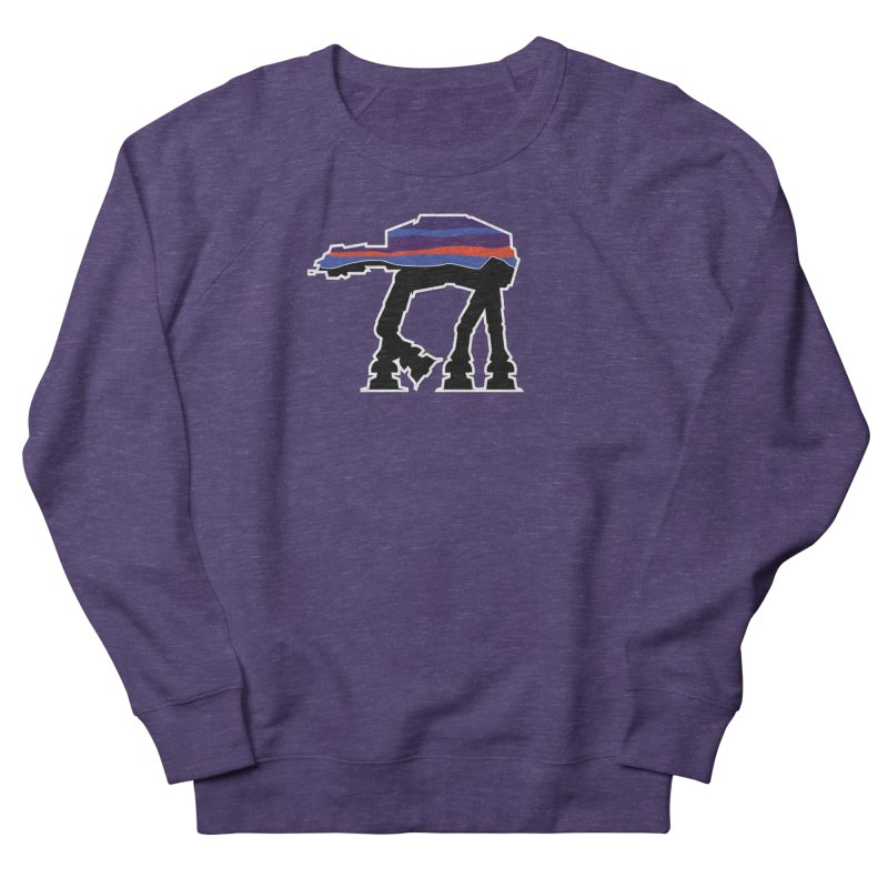 Where ya At-At? Women's French Terry Sweatshirt by Mike Hampton's T-Shirt Shop