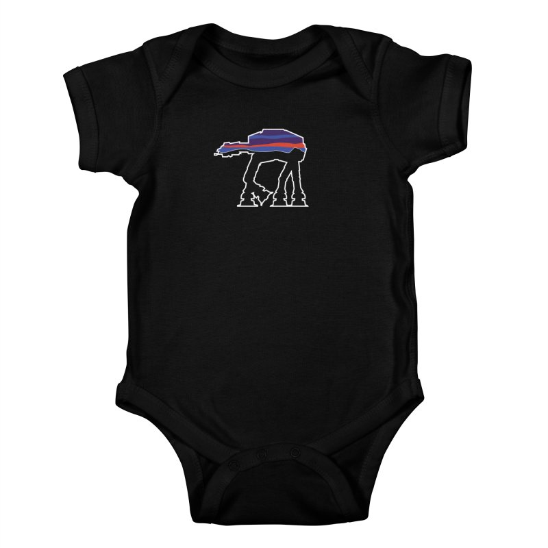 Where ya At-At? Kids Baby Bodysuit by Mike Hampton's T-Shirt Shop