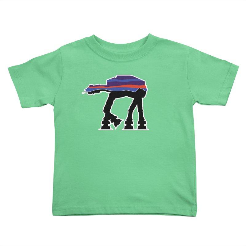 Where ya At-At? Kids Toddler T-Shirt by Mike Hampton's T-Shirt Shop