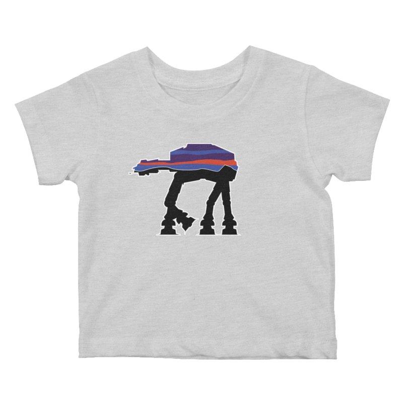 Where ya At-At? Kids Baby T-Shirt by Mike Hampton's T-Shirt Shop